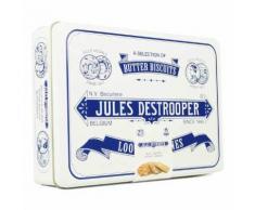 Grande boite rétro de biscuits belges assortis - Boîte350g