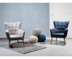 Fauteuil de salon - fauteuil en tissu océan pacifique - Angen