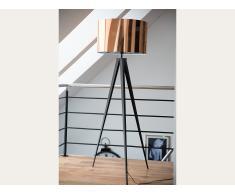Lampadaire design - luminaire - lampe de salon - cuivre - Stiletto