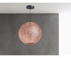 Lampe de plafond - suspension - plafonnier - luminaire cuivre - Seine