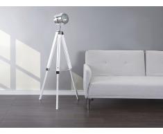 Lampadaire design - luminaire - lampe de salon - blanc - Alzette