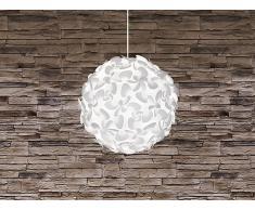 Lampe de plafond - suspension - plafonnier - luminaire blanc - Lora