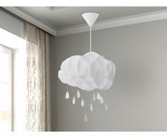Lampe de plafond - suspension - plafonnier - luminaire blanc - Ailenne