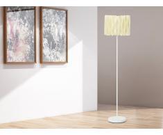 Lampadaire design - luminaire - lampe de salon - crème - Moza