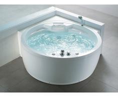 Baignoire d'angle - baignoire balnéo / whirlpool - hydromassage & chromothérapie - Milano