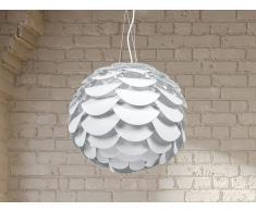 Lampe de plafond - suspension - plafonnier - luminaire blanc - Moselle