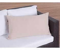 Coussin de jardin - coussin rectangulaire caramel - 50x70 cm