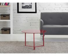 Table basse design - Table d'appoint 60x40 cm - rouge - Tribeca
