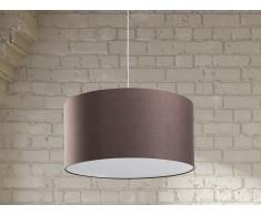 Lampe de plafond - suspension - plafonnier - luminaire marron - Elbe