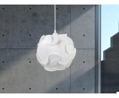 Lampe de plafond - suspension - plafonnier - luminaire blanc - Tambre