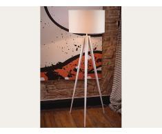 Lampadaire design - luminaire - lampe de salon - blanc - Stiletto