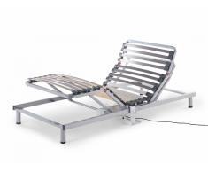 Sommier à lattes électrique - inclinaison réglable - 90x200 cm - Comfort