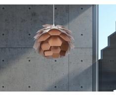 Lampe de plafond - suspension - plafonnier - luminaire cuivre - Segre Mini