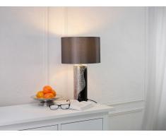 Lampe à poser - lampe de salon, de chevet, de bureau - noir - Aiken