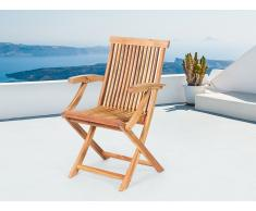 Chaise de jardin inclinable en bois - Java