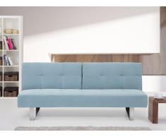 Canapé convertible - canapé-lit en tissu menthe - Dublin