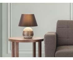 Lampe à poser - lampe de salon, de chevet, de bureau - bronze - Sado