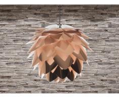 Lampe de plafond - suspension - plafonnier - luminaire cuivre - Silvia