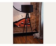 Lampadaire design - luminaire - lampe de salon - noir - Stiletto