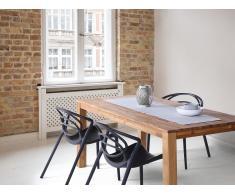 Chaise noire - Chaise de jardin - Chaise de salle à manger - Chaise design - Bend
