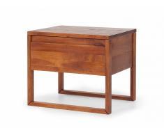 Table de nuit - table de chevet - en bois huilé (couleur naturelle) - Giulia