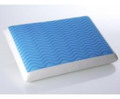 Oreiller en mousse à mémoire de forme avec gel - 60x40 cm - Emin