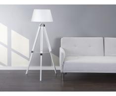 Lampadaire design - luminaire - lampe de salon - blanc - Madeira