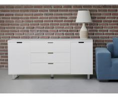 Commode - buffet - meuble TV - blanc - Seattle