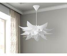 Lampe de plafond - suspension - plafonnier - luminaire blanc - Alva