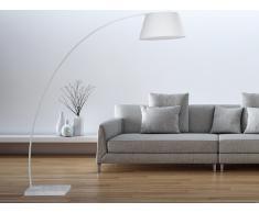 Lampadaire design - luminaire - lampe de salon - blanc - Benue