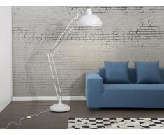 Lampadaire design - luminaire - lampe de salon - blanc - Parana
