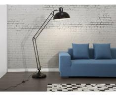 Lampadaire design - luminaire - lampe de salon - noir - Parana