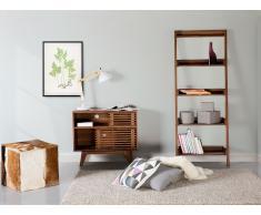 Etagères échelle en bois - meuble de rangement - Trio