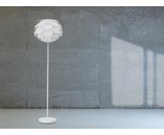 Lampadaire design - luminaire - lampe de salon - blanc - Segre