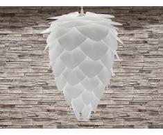 Lampe de plafond - suspension - plafonnier - luminaire blanc - Bloom