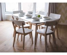 Chaises de salle à manger - Blanc - SANTOS