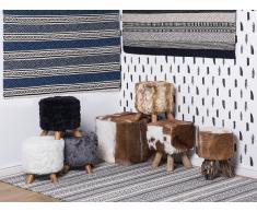Tapis - gris/beige/noir - 80x150 cm - rectangulaire - Polatli