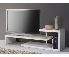 Meuble TV - meuble de rangement - blanc - Concord