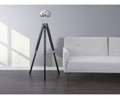 Lampadaire design - luminaire - lampe de salon - noir - ALZETTE