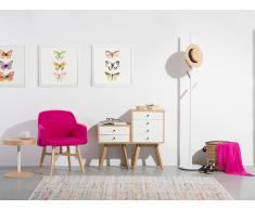 Commode - meuble de rangement - étagère - blanc - Phoenix