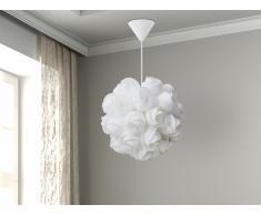 Lampe de plafond - suspension - plafonnier - luminaire blanc - Sordo