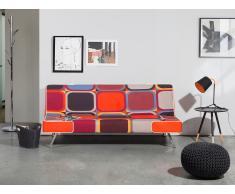 Canapé - Canapé convertible - Vintage - Polyester - Multicolor - Vang