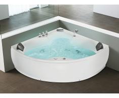 Baignoire d'angle - baignoire balnéo / whirlpool - hydromassage & chromothérapie - Senado