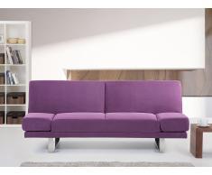 Canapé convertible - canapé-lit en tissu fucsia - York