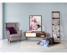 Etagères échelle en bois - meuble de rangement - Duo