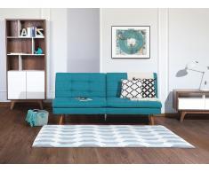 Canapé - Canapé convertible - Polyester - Bleu - Ronne