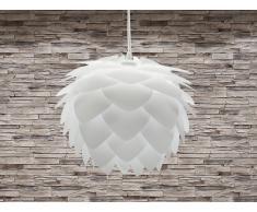 Lampe de plafond - suspension - plafonnier - luminaire blanc - Silvia
