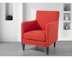 Fauteuil en tissu - fauteuil tapissé rouge - Philadelphia