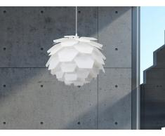 Lampe de plafond - suspension - plafonnier - luminaire blanc - Segre Mini
