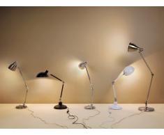 Lampe à poser - Lampe de bureau - pliable - nickel - Patoka